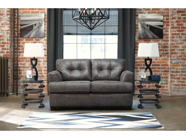 A 6580738 Grey Sofa And Loveseat Br Furniture Outlet