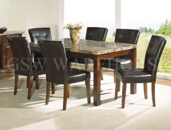 Model 2254 5pc Dining Table Set Br Furniture Outlet