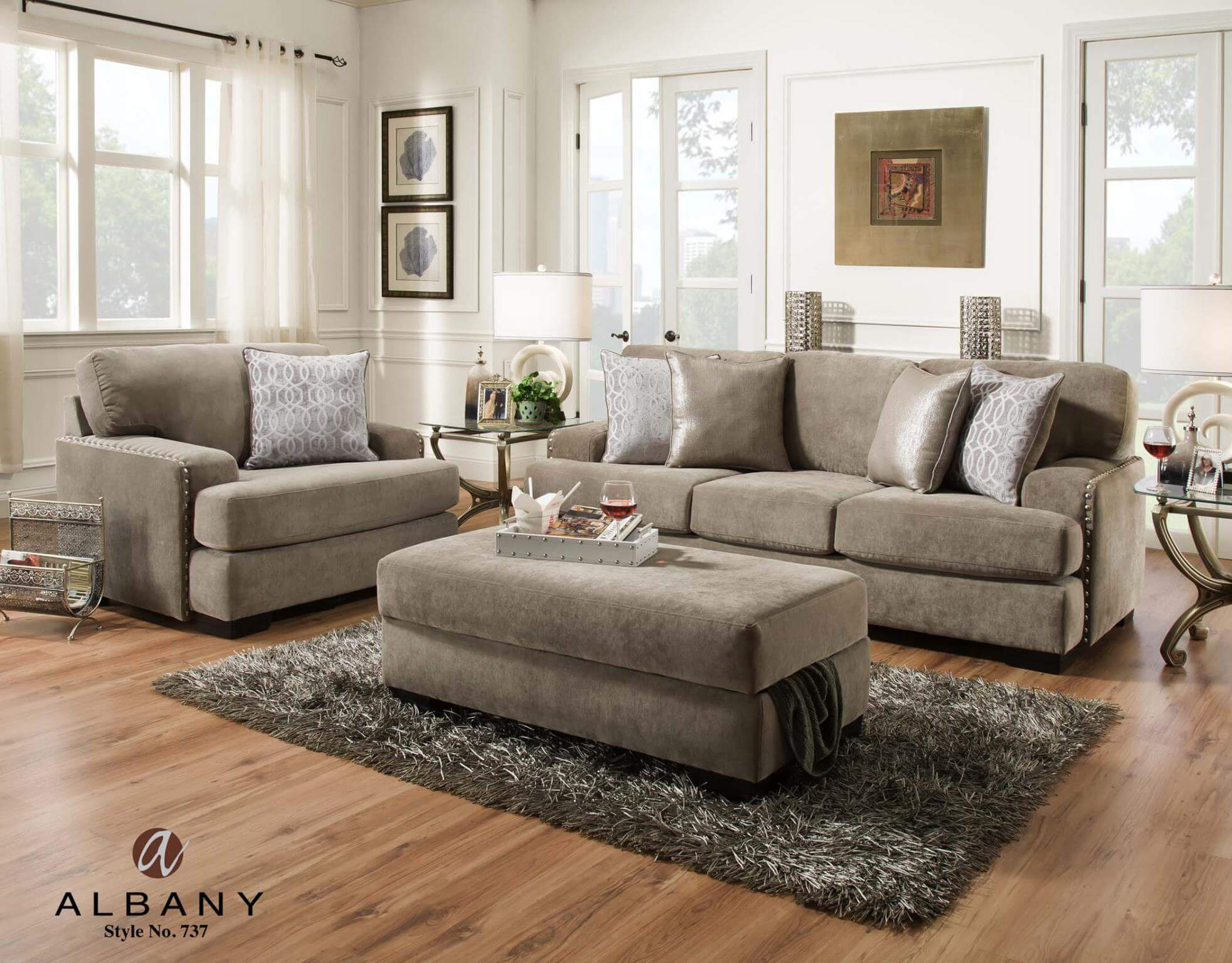 Square Ottoman With Storage